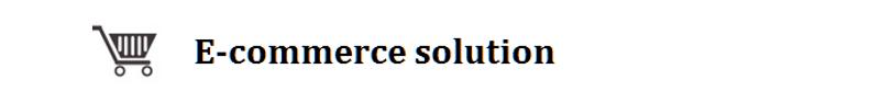 E-commerce_solution